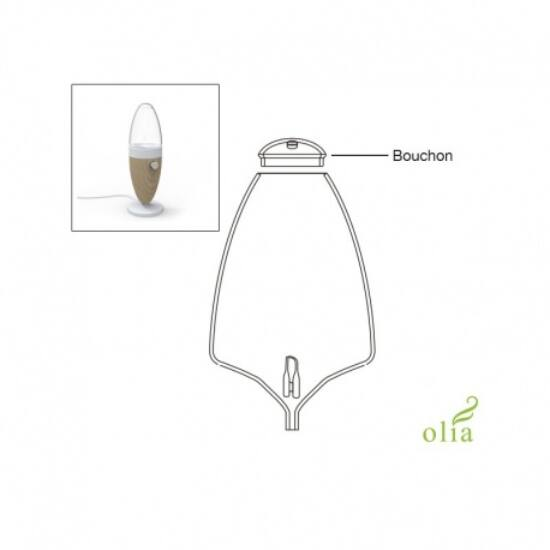 Üvegsapka OLIA illóolaj-porlasztóhoz