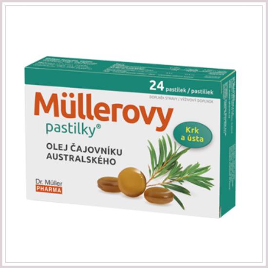 Teafaolajos trorkfertőtlenítő cukorka Dr Müller