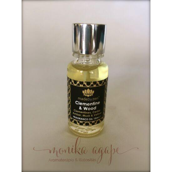Clementine Wood Parfümolaj Madebyzen