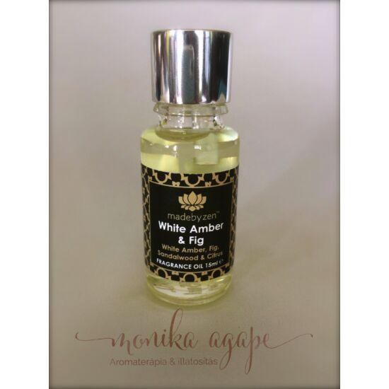 White Amber Fig Parfümolaj Madebyzen