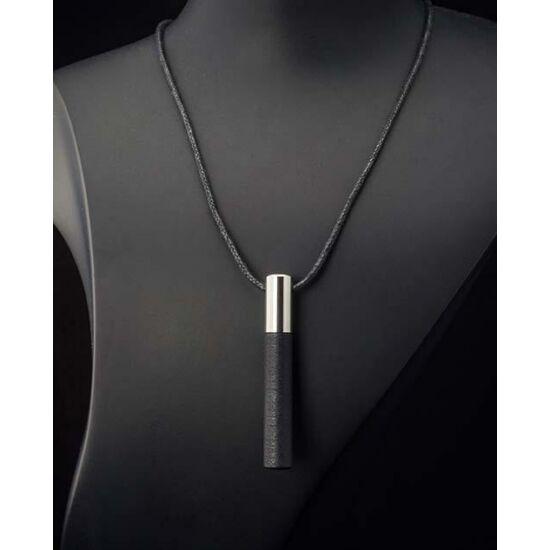 Lockstone Plus Steel acél medál viaszos pamut láncon