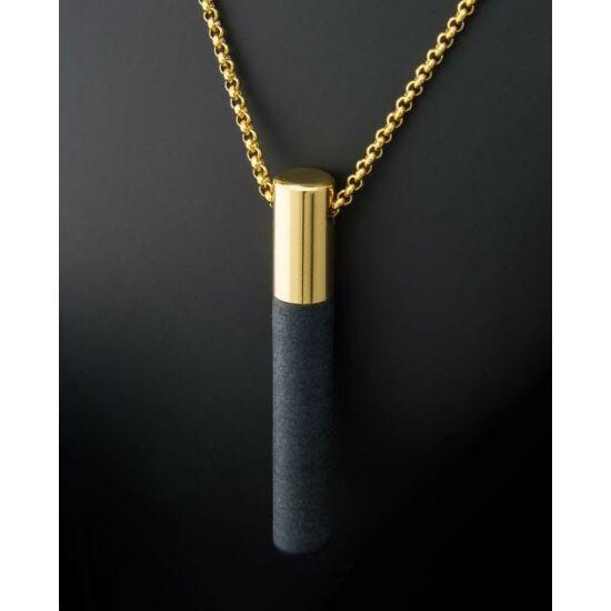 Lockstone Plus Gold rozsdamentes acél aranymedál rozsdamentes acél láncon
